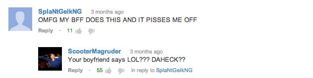 Laugh Out Loud YouTube Comments