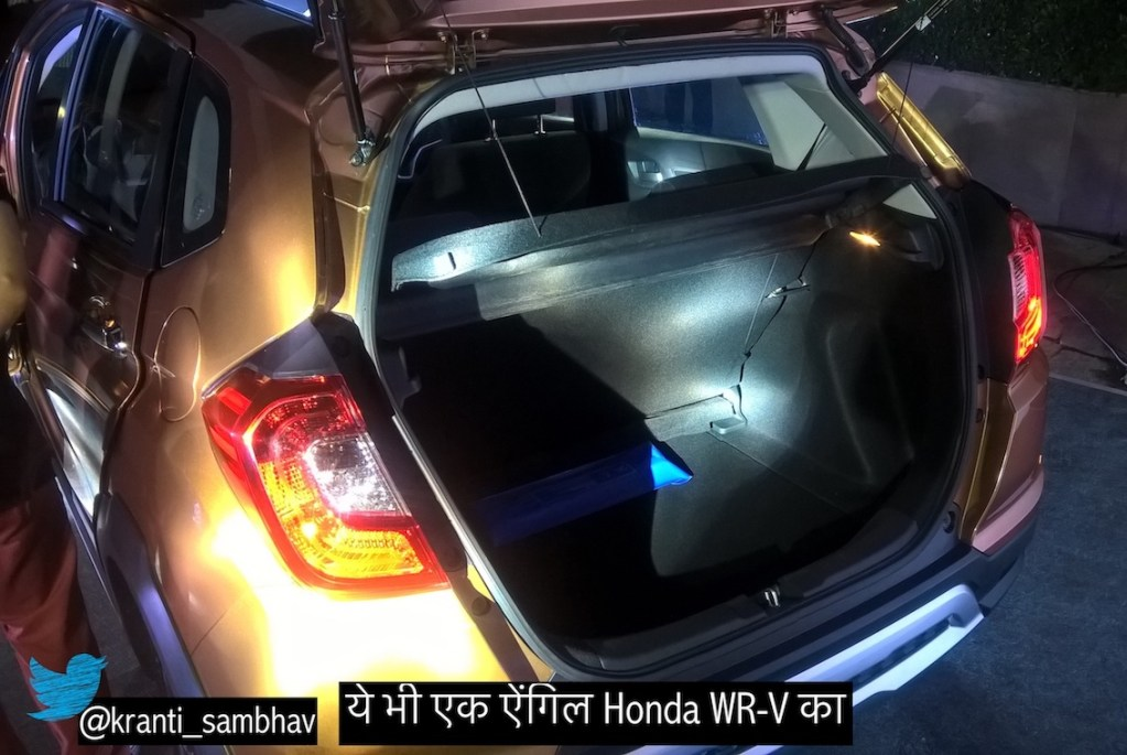 Honda WR-V 12