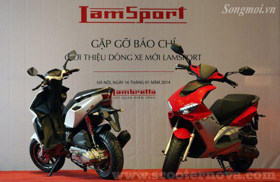 Lambretta LamSport 125, Vietnam, January 2014.