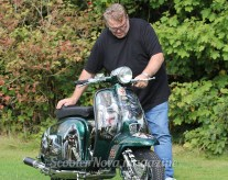 St George custom Lambretta, to be featured in edition 28 of ScooterNova magazine