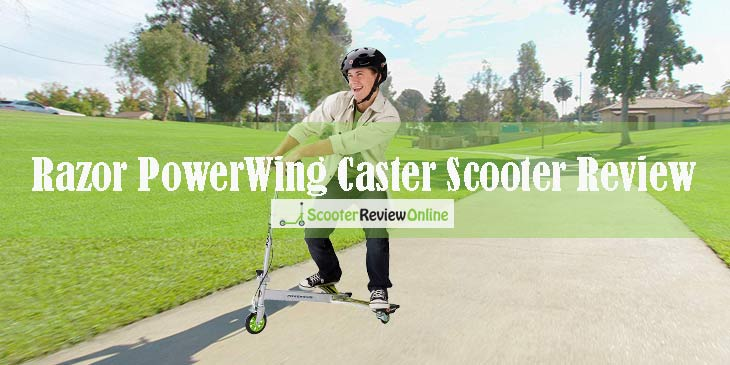 Razor PowerWing Caster Scooter Review