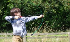 Playing Archery for Fun