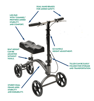Knee Scooters That Have Extra Features