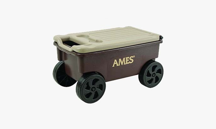 AMES Buddy Lawn Cart Garden Scooter