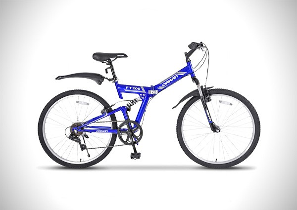 GTM 26″ 7 Speed Folding Mountain Bike Bicycle