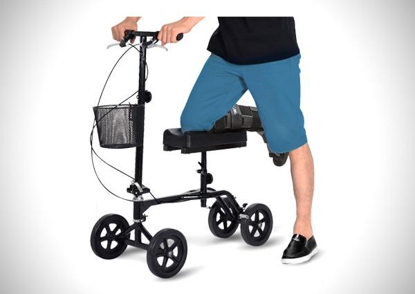 Giantex Steerable Foldable Knee Walker Roller Scooter
