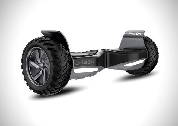 Jetson V8 All Terrain Black Electric Hoverboard