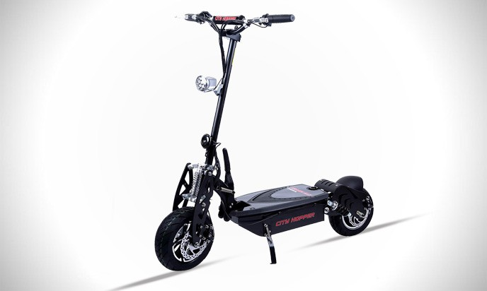 RASSINÉ City Hopper 1000W Electric Scooter with Turbo Motor