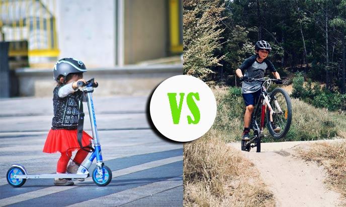 scooter vs bike