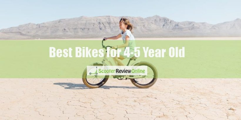 Best Bikes for 4-5 Year Old Boys and Girls