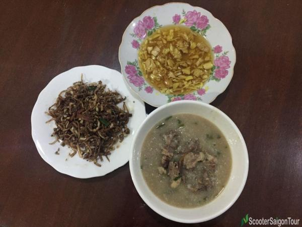 Vietnamese Congee With Duck (2)