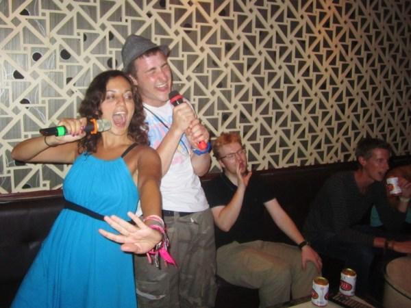 Try karaoke