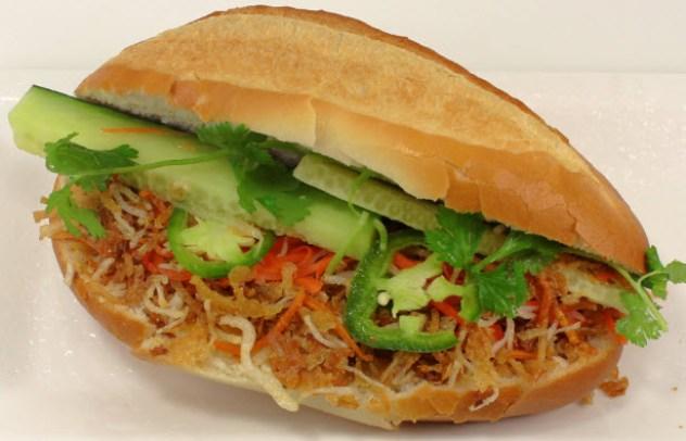 19. Vegetarian Vietnamese Sandwich