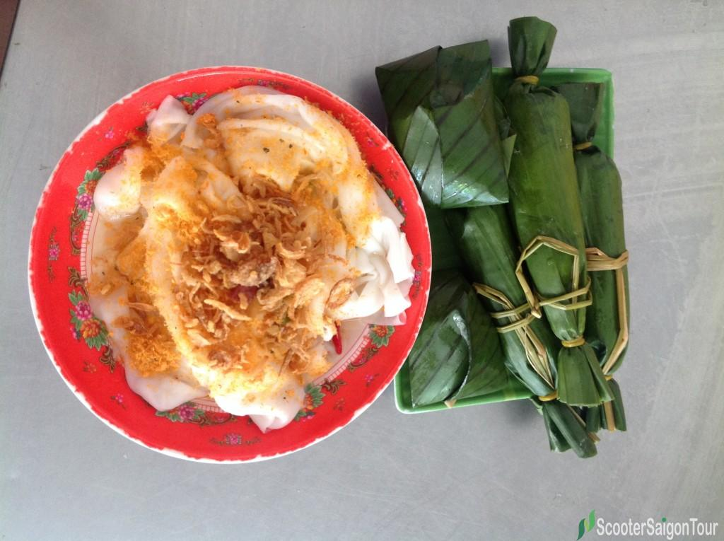 Wet Rice Pancake - one of Danang Specialty Foods