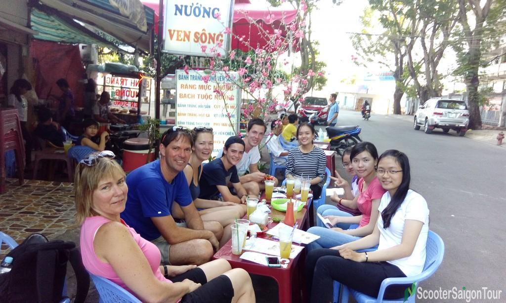 saigon motorbike tour at Binh Quoi 5