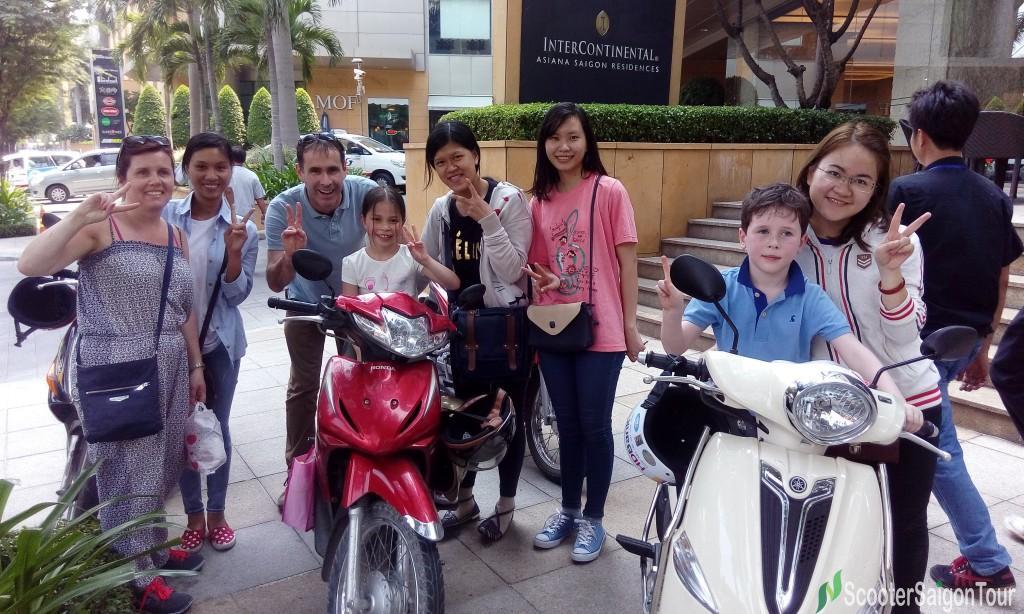 saigon motorbike tour pick up