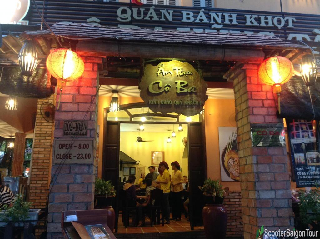 name board of co ba vung tau restaurant tracy do