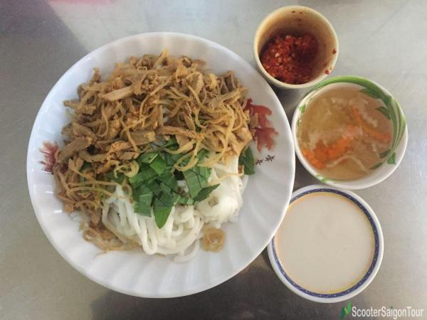 Silk Worm Cake With Shredded Pig Skin Or Banh Tam Bi In Vietnam 2