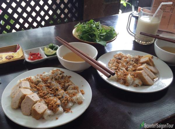 Vietnamese Stuffed Pancake