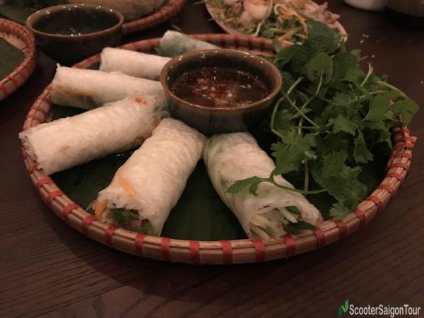 Vietnamese Spring Roll Or Goi Cuon