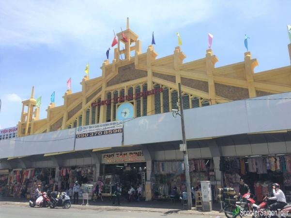 Tan Dinh Market In Saigon