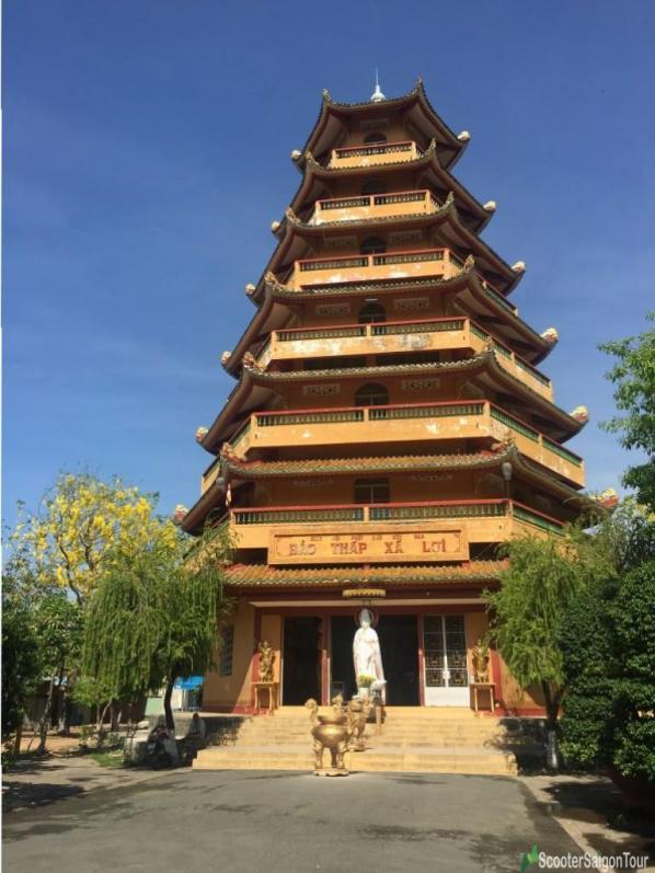 Tower At Giac Lam Pagoda