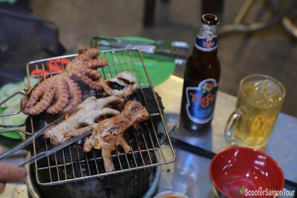Vietnamese Barbecue In Saigon