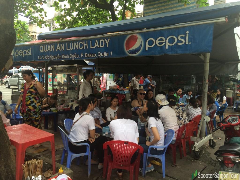 Lunch Lady's Noodle Soups In Saigon 2