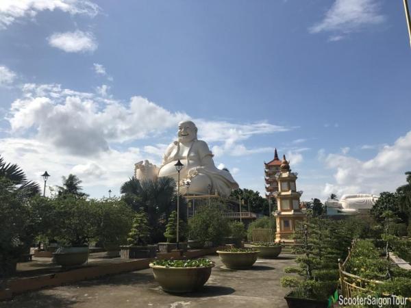 Vinh Trang Pagoda in Tien Giang