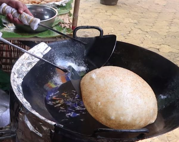 bloating steamed glutinous rice