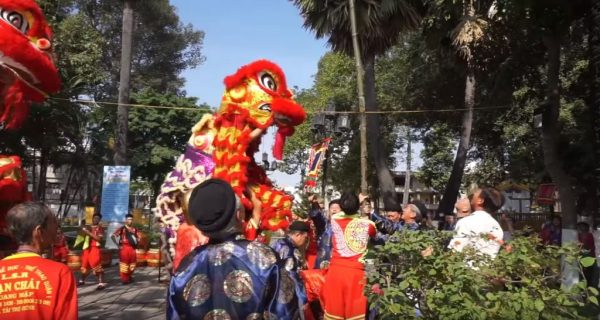 Lang Ong - Ba Chieu Festival