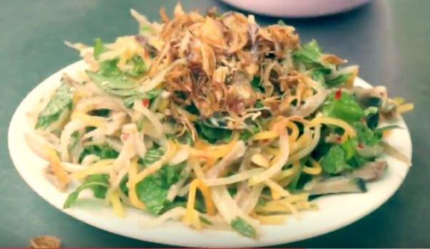 Melo melo salad