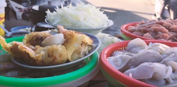 Vietnamese pancake in Phan Thiet