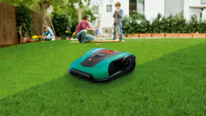 A robotic lawn mower. We want to check the plausibility of a market estimate for the lawn mower market.