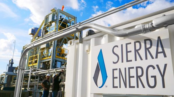 Sierra Energy is a waste gasification company, and hydrogen one of the products they can make from waste.