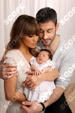RACHEL STEVENS AND DAUGHTER