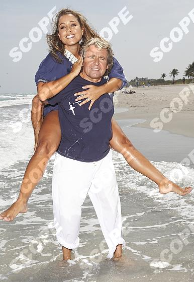 DAVY JONES AND WIFE JESSICA AT HOME IN FLORIDA - 2011