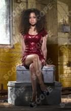 CORONATION STREET ACTRESS NATALIE GUMEDE - 2012