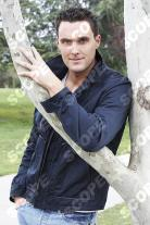 Welsh actor Owain Yeoman in Los Angeles - 2009