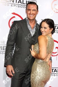 "at the CBS Celebration of the 100 Episodes Of ""The Mentalist,"" The Edison, Los Angeles, CA 10-13-12"