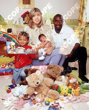 Sharon Davies and family