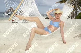 Anthea Turner in Mexico