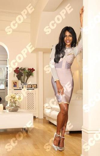 SINITTA AT HOME
