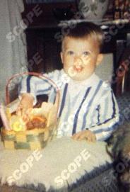 Brad Pitt as a baby