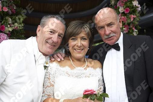 LYNDA BELLINGHAM WEDDING DAY