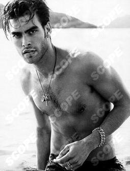 Model Jon Kortajarena by Peter Lindbergh for David Yurman ad campaign.