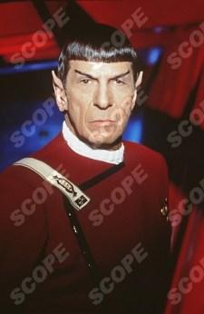 Leonard Nimoy as Mr. Spock in Star Trek VI The Undiscovered Country