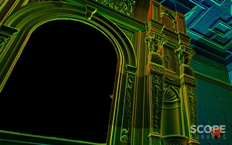 3D HD Laser Scan by Scope Surveys, London