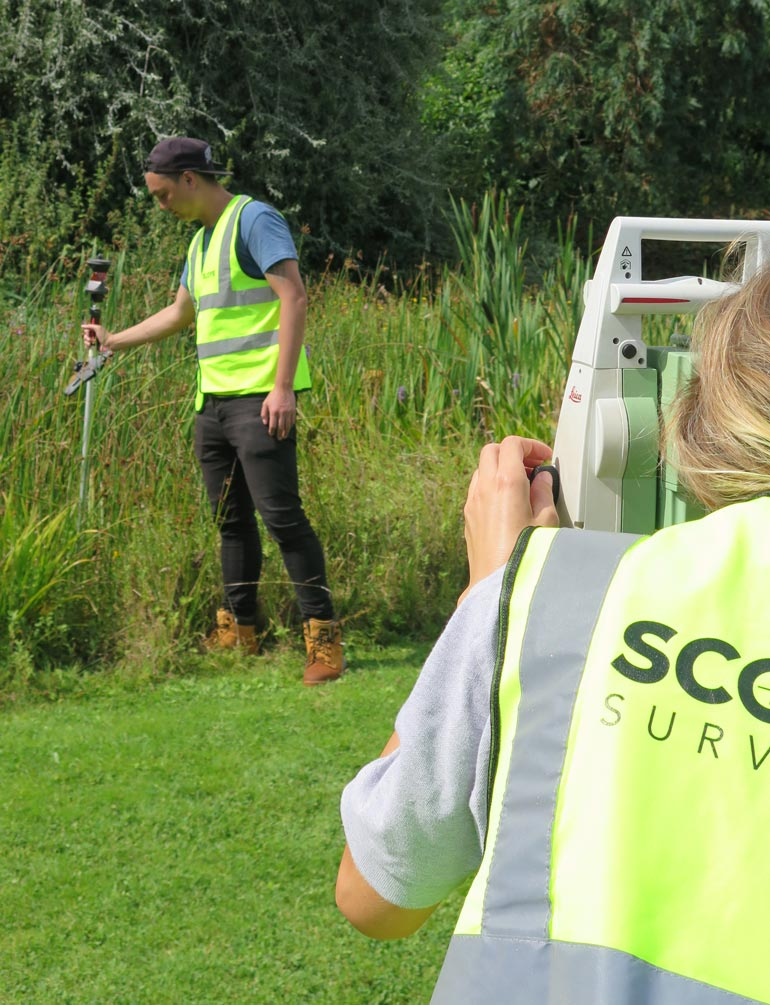 Leica Topographical Surveying Scope Surveys London