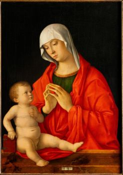 """Madonna and Child"" (between 1480 and 1485) by Giovanni Bellini Credit: Louvre Abu Dhabi"